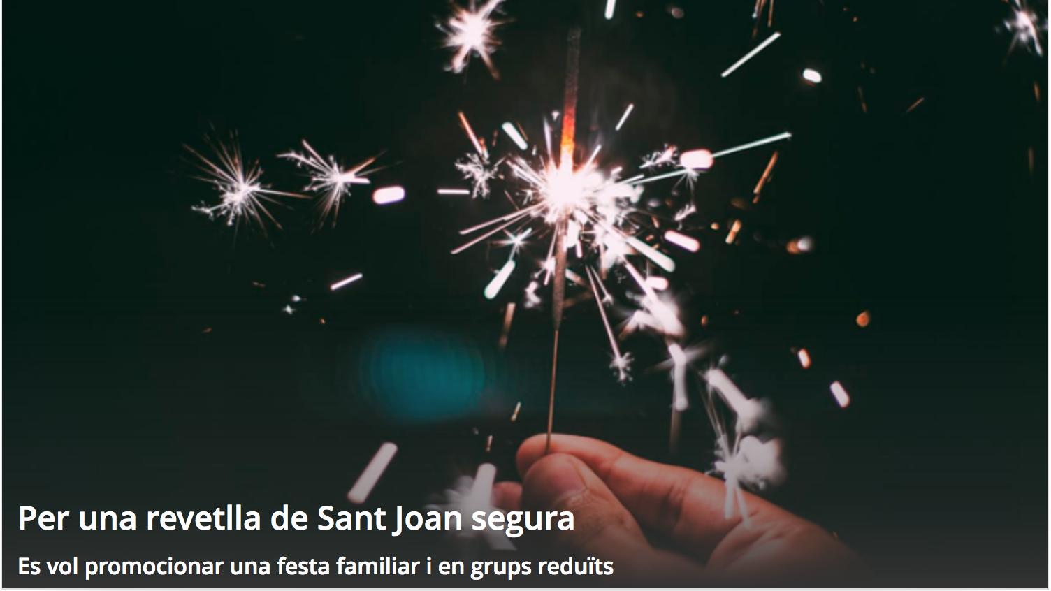 Mesures Sant Joan