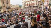 Milers de persones han omplert la Font del Lleó