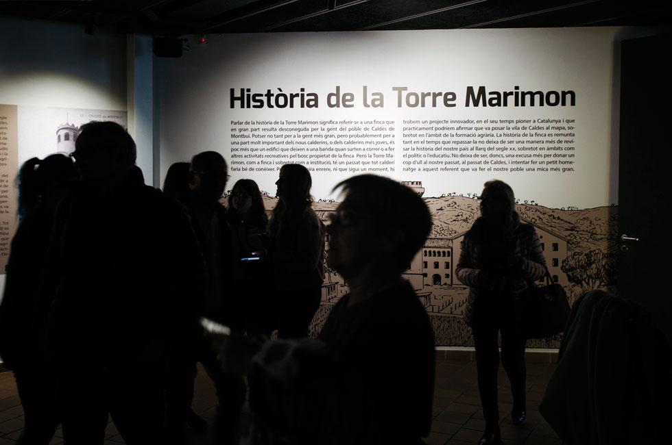 Exposició Torre Marimon