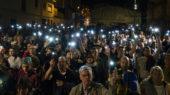 Més d'un miler de calderins ha donat suport a la Xènia