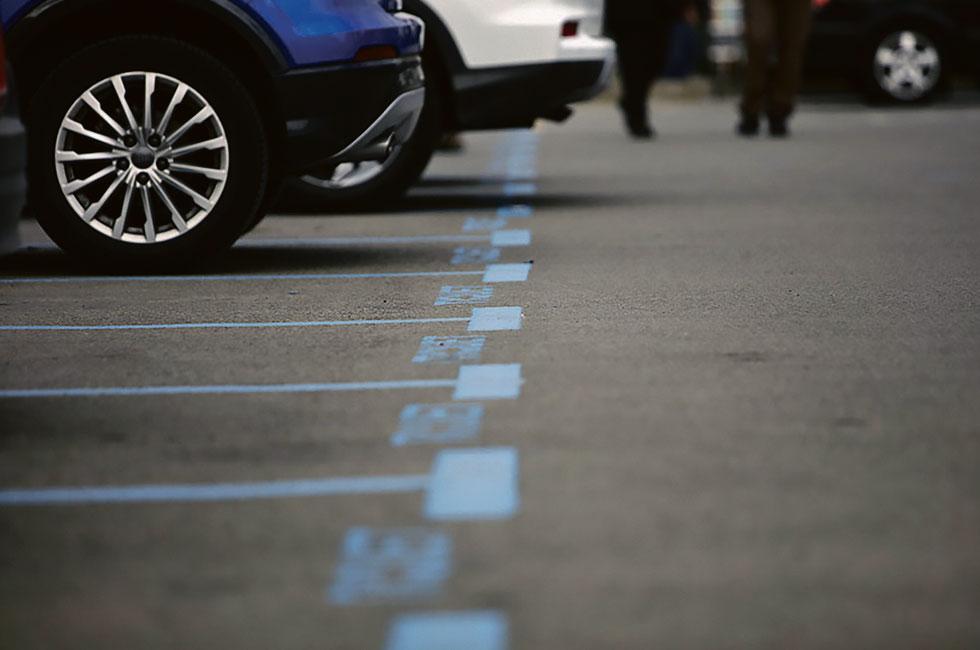 Zona Blava aparcament