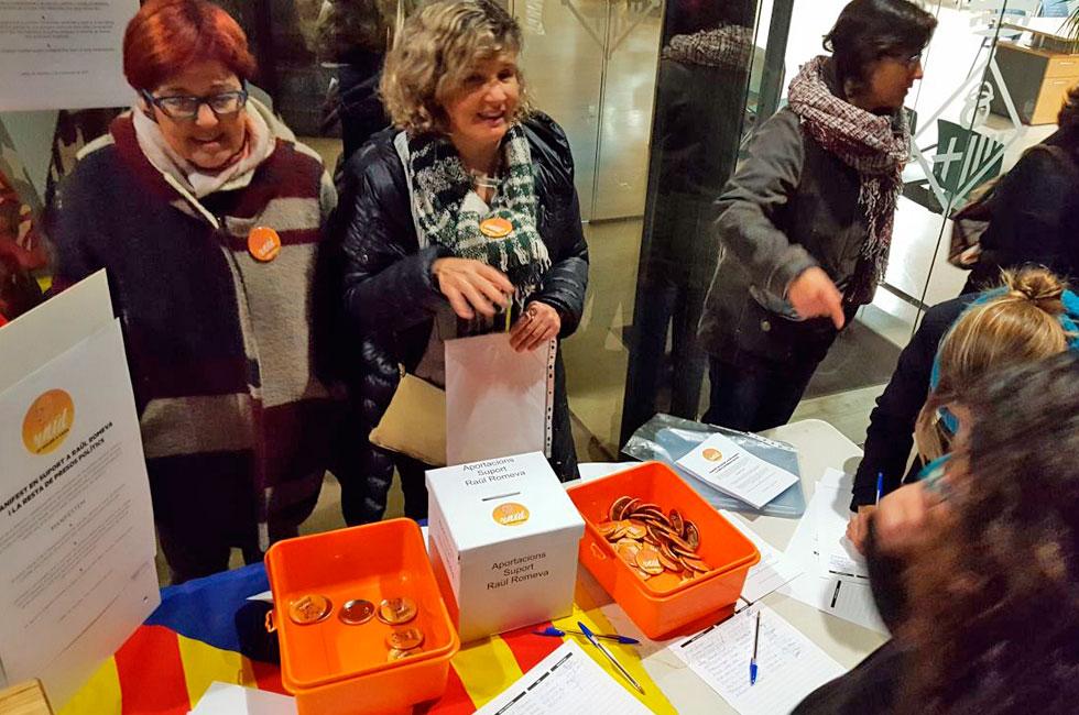 recollida signatures raül romeva